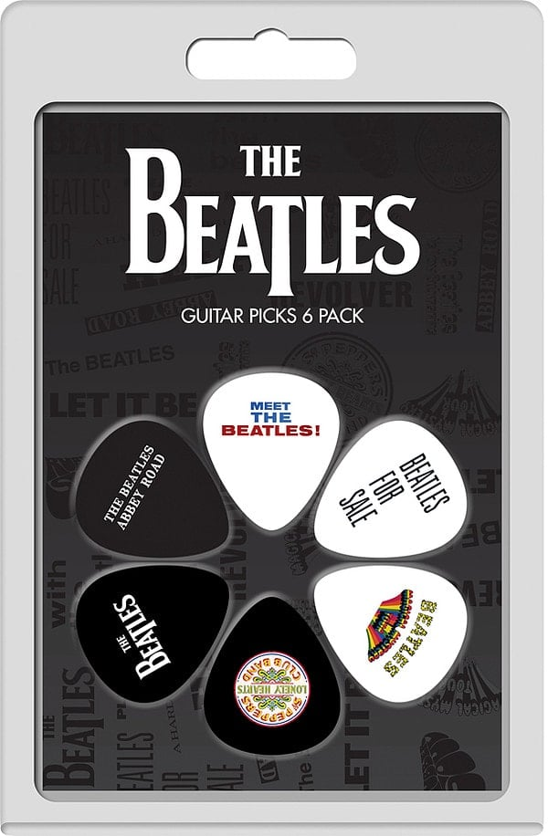 BEATLES-Plektrum-Set 1: ALBUMS 1962 - 1969