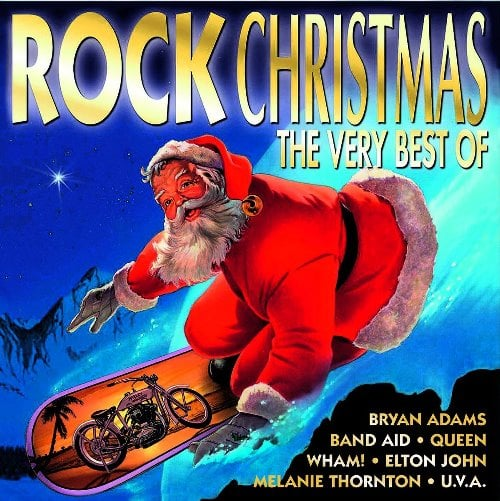 various artists: Doppel-CD ROCK CHRISTMAS - THE VERY BEST OF