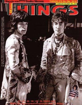 BEATLES-Magazin THINGS 275 - the self-made print
