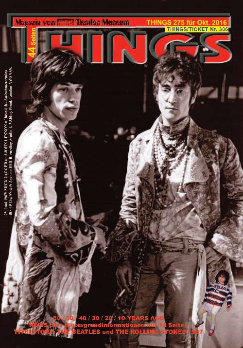 BEATLES-Magazin THINGS 275 - the self-made print