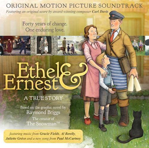 CD ETHEL & ERNEST - mit einem neuen Song von und mit P. McCARTNE