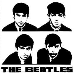 Magnet THE BEATLES AUGUST 1962 SHADOW PHO