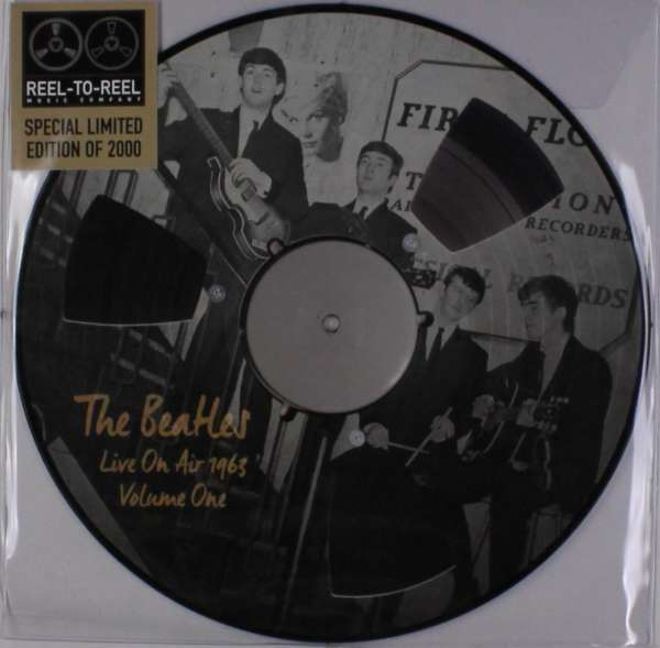 THE BEATLES: Picture-LP LIVE ON AIR 1963 VOL. 1