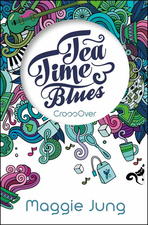 deutsches Buch TEA TIME BLUES mit BEATLES-Thema