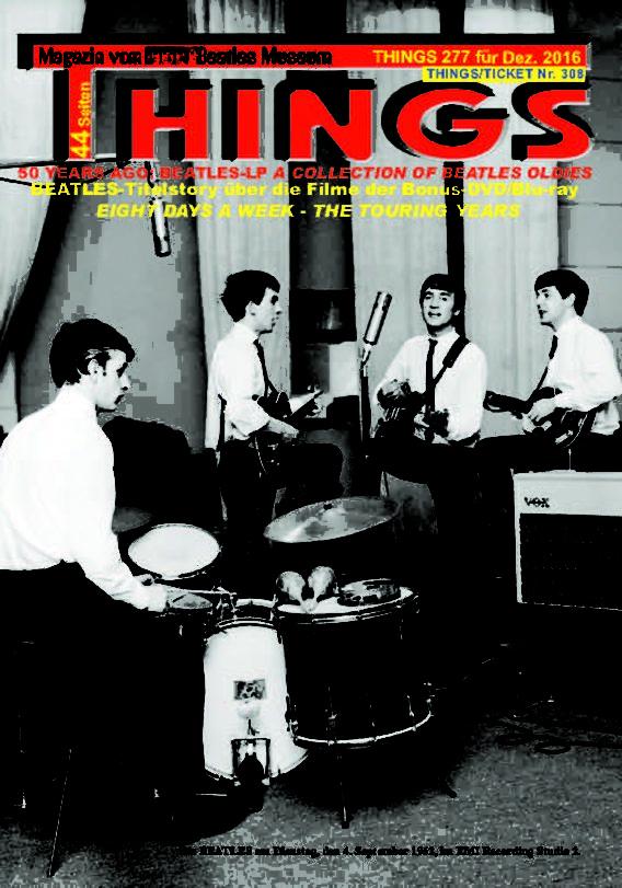 BEATLES-Magazin THINGS 277 - reprint