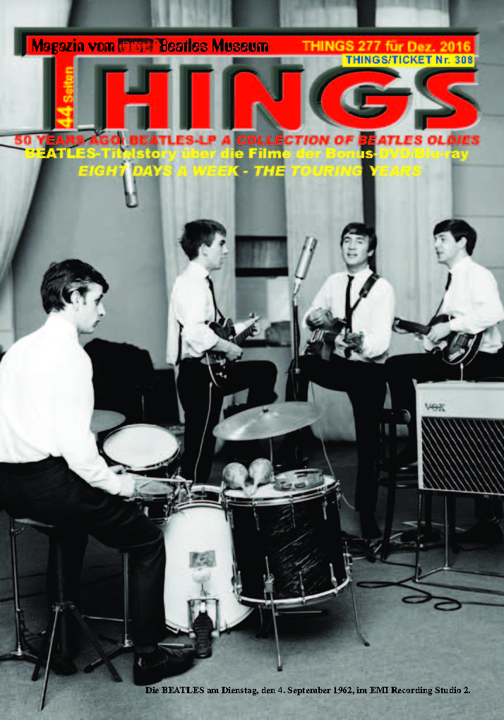 BEATLES-Magazin THINGS 277 - reprint