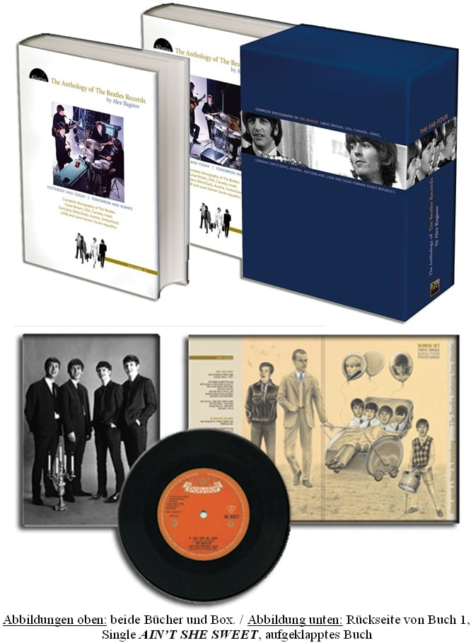Buch (mit Vinyl-Single) THE ANTHOLOGY OF THE BEATLES RECORDS