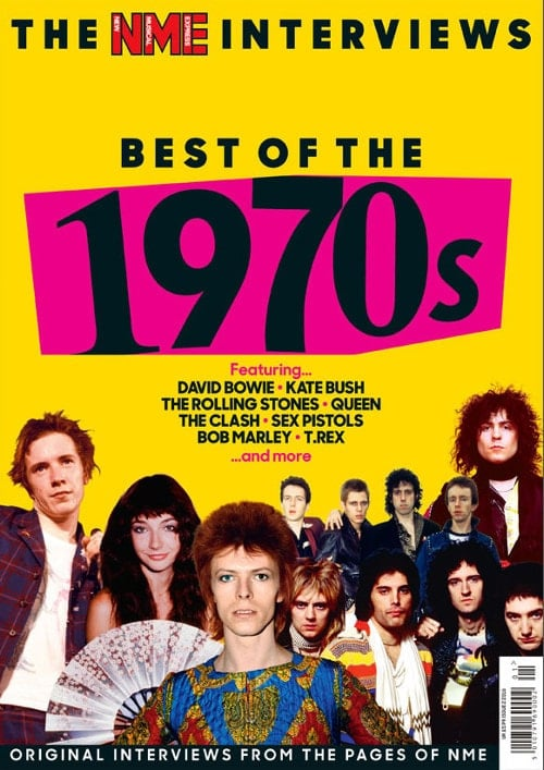Paperback THE NEW MUSICAL EXPRESS INTERVIEWS - BEST OF THE 1970s