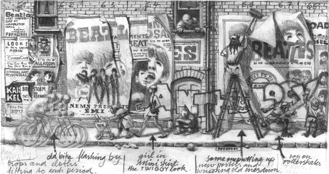 Art Print AP 21.0 BEATLES ANTHOLOGY VISION