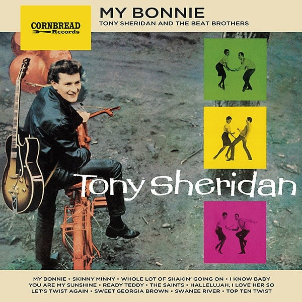 TONY SHERIDAN & THE BEATLES: 2017er LP MY BONNIE