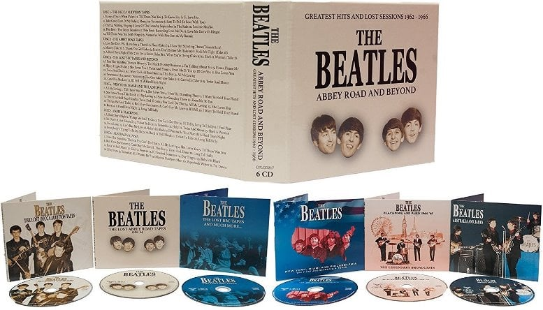 THE BEATLES: Box (6 CDs) ABBEY ROAD AND BEYOND