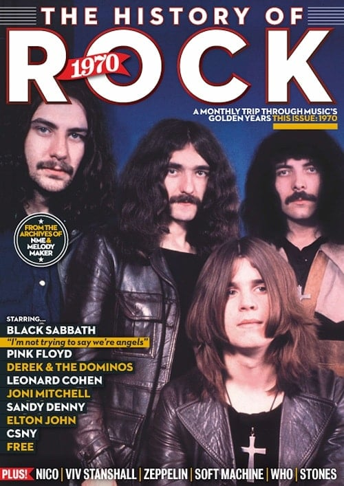 Paperback THE HISTORY OF ROCK 1970