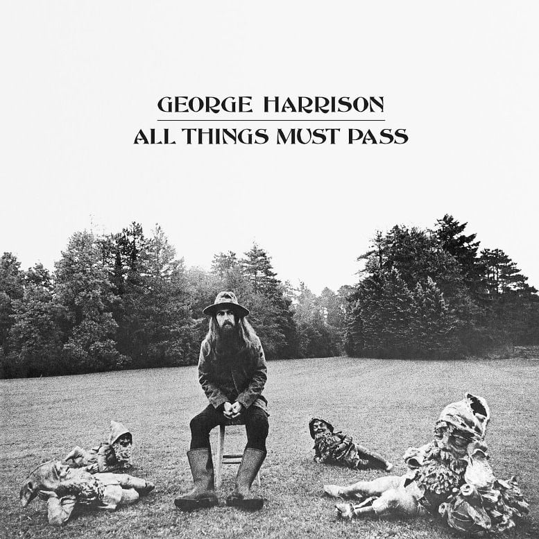 GEORGE HARRISON: 2017er 3er LP ALL THINGS MUST PASS