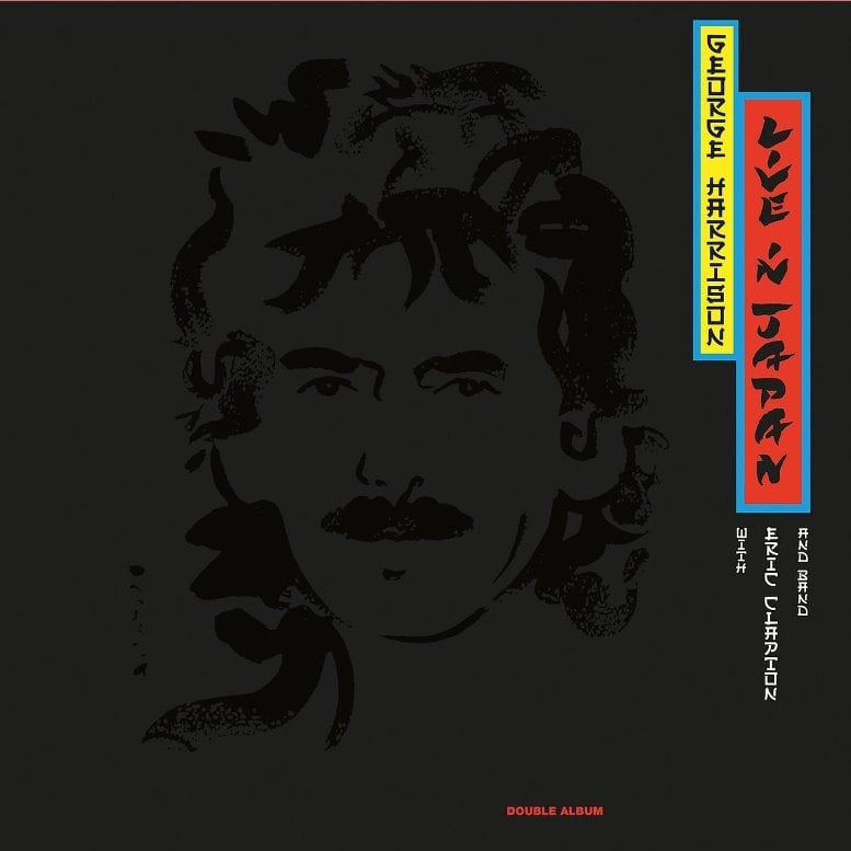 GEORGE HARRISON: 2017er Doppel-LP LIVE IN JAPAN