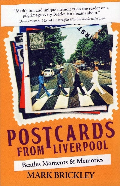 BEATLES-Buch POSTCARDS FROM LIVERPOOL