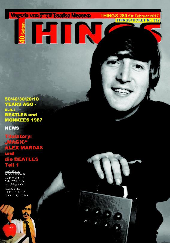 BEATLES-Magazin THINGS 280