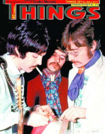 BEATLES-Magazin THINGS 281 Nachdruck