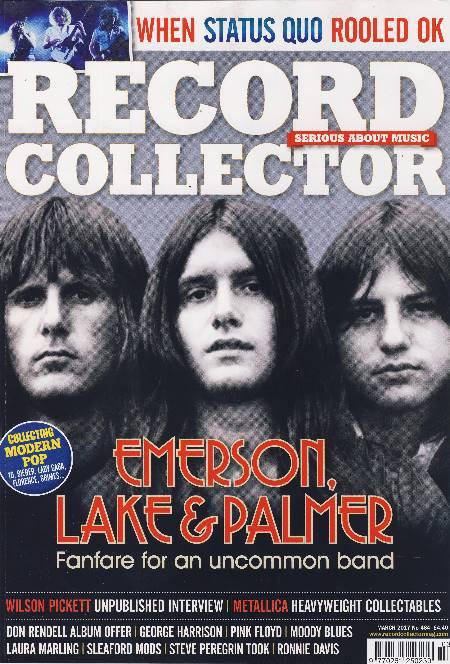 Zeitschrift/magazine RECORD COLLECTOR 464