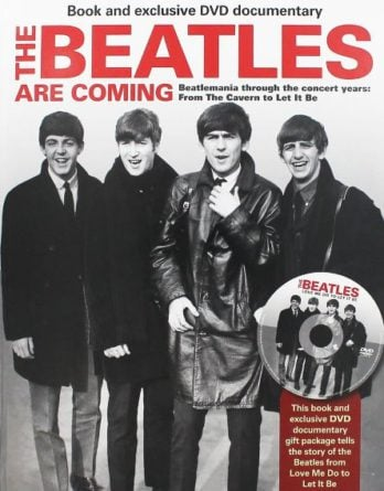 Buch THE BEATLES ARE COMING & DVD