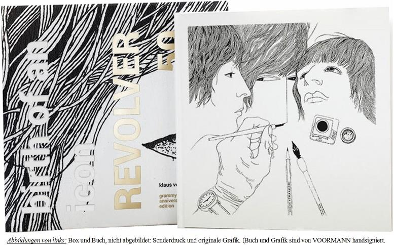BEATLES-Buch REVOLVER 50 - GRAMMY ANNIVERSARY COLL. ED.