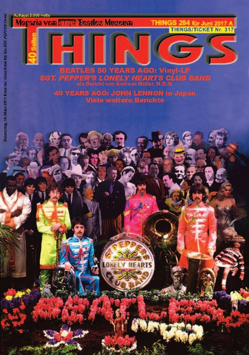 BEATLES-Magazin THINGS 284