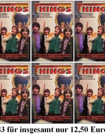 10 x BEATLES-Magazin THINGS 283