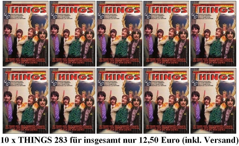 10 x BEATLES-Magazin THINGS 283