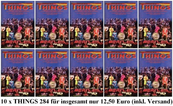 10 x BEATLES-Magazin THINGS 284