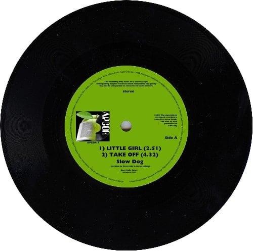 SLOW DOG: Vinyl-EP LITTLE GIRL
