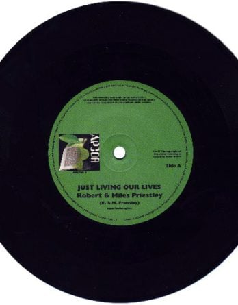 PRIESTLEY: Vinyl-Single JUST LIVING OUR LIVES