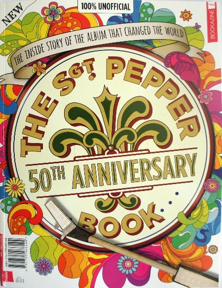BEATLES-Paperback THE SGT. PEPPER BOOK - 50th ANNIVERSARY