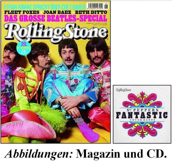Zeitschrift ROLLING STONE Nr. 272, 06/2017