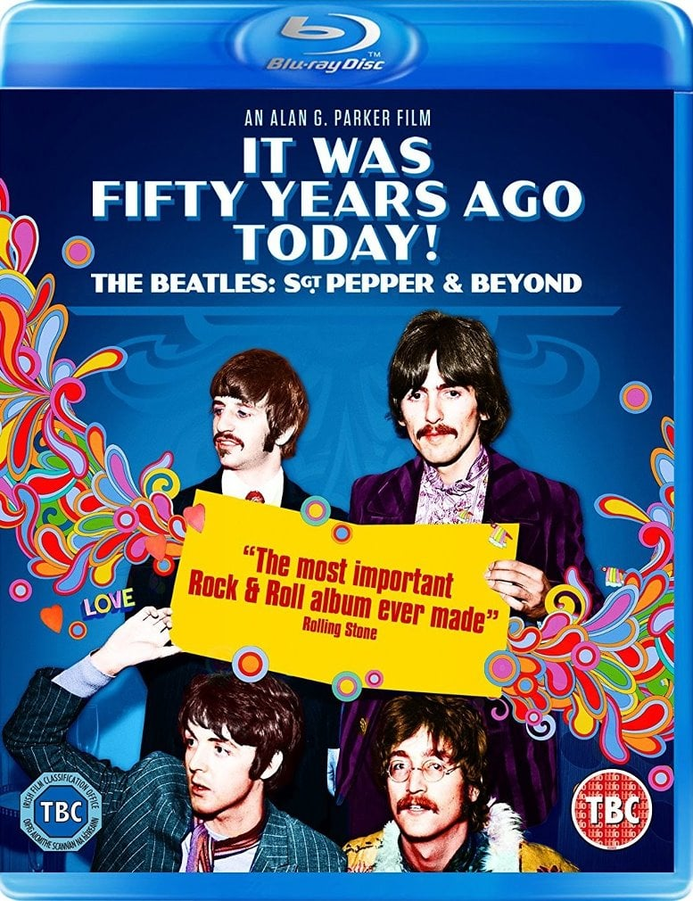 Blu-ray ... 50 YEARS AGO ... BEATLES - SGT. PEPPER