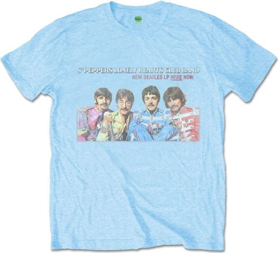 BEATLES-T-Shirt SGT. PEPPER - PHOTO FROM COVER INSIDES