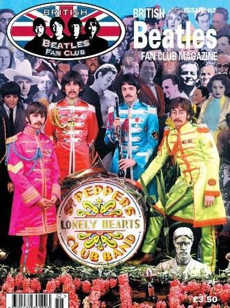 Fanmagazin BRITISH BEATLES FAN CLUB MAGAZINE - ISSUE 62