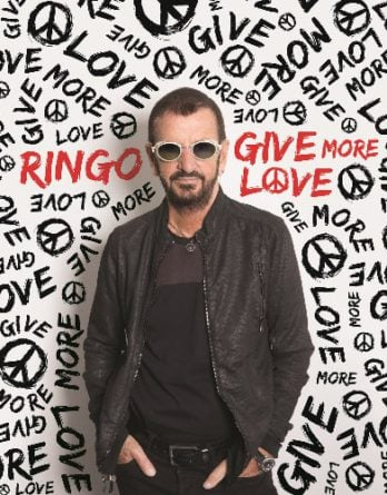 RINGO STARR-CD GIVE MORE LOVE