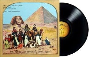 2017er Black-Vinyl-LP FEELING THE SPACE