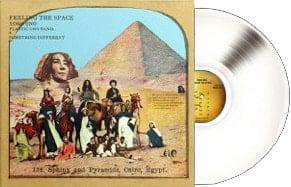 2017er White-Vinyl-LP FEELING THE SPACE
