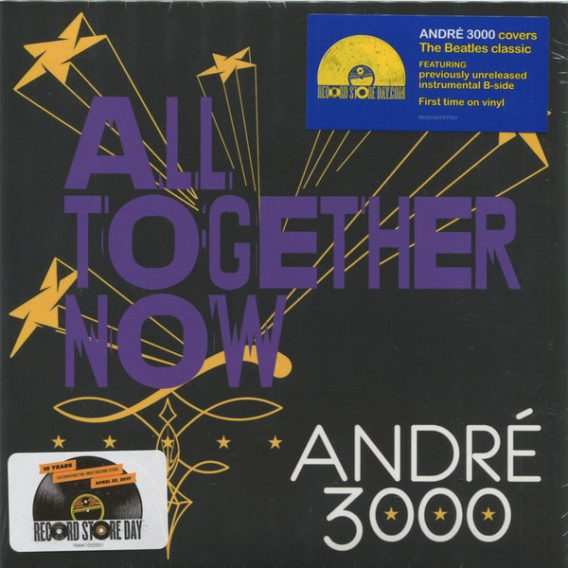 "ANDRÈ 3000: ""Record Store Day""-Single ALL TOGETHER NOW"