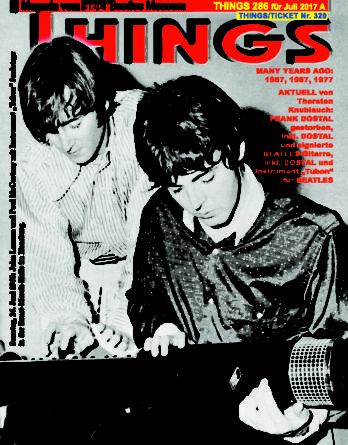 Deutsches BEATLES-Magazin THINGS 286