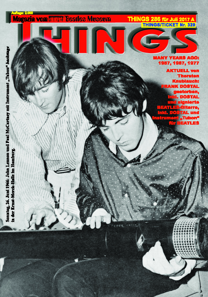 Deutsches BEATLES-Magazin THINGS 286