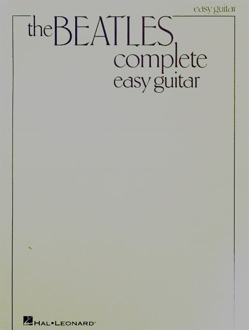 Partiturenbuch THE BEATLES COMPLETE EASY GUITAR