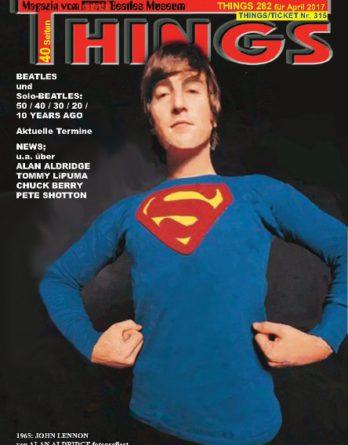 BEATLES-Magazin THINGS 282 Nachdruck