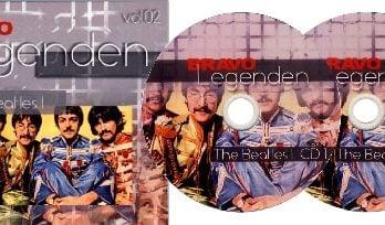 Doppel-DVD-R BRAVO LEGENDEN - THE BEATLES I