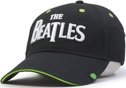 Baseball Cap LETTERING THE BEATLES & LITTLE APPLE-LOGO