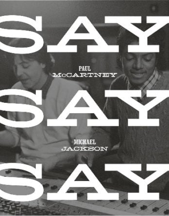 McCARTNEY & JACKSON: Transparet-Vnyl-Maxisingle SAY SAY SAY