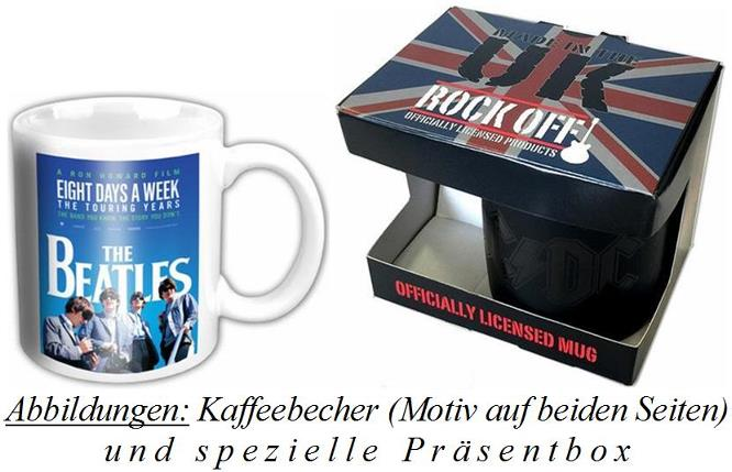 BEATLES-Kaffeebecher EIGHT DAYS A WEEK