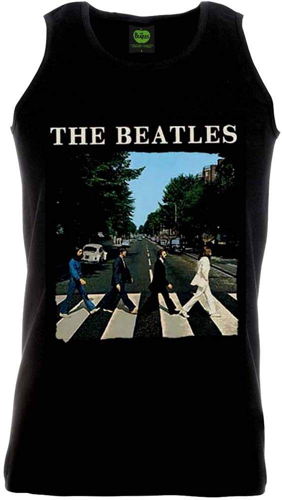 2014: BEATLES-Achselshirt ABBEY ROAD ALBUM COVER ON BLACK