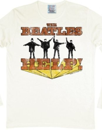 BEATLES: longsleeve-Shirt HELP! US COVER