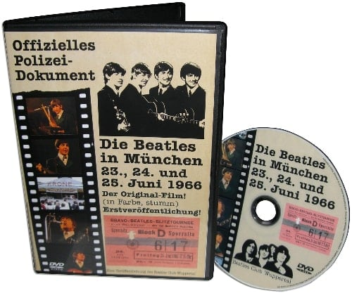 BEATLES: DVD DIE BEATLES IN MÜNCHEN 1966